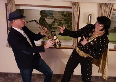 Saxman & Elvis plavba lodí